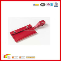 special pu leather wholesale luggage tag,red airline luggage tag,lugage tag for travel