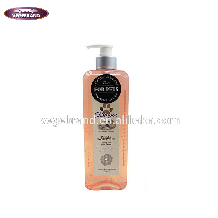 Wholesale high quality natural pet products organic dog shampoo