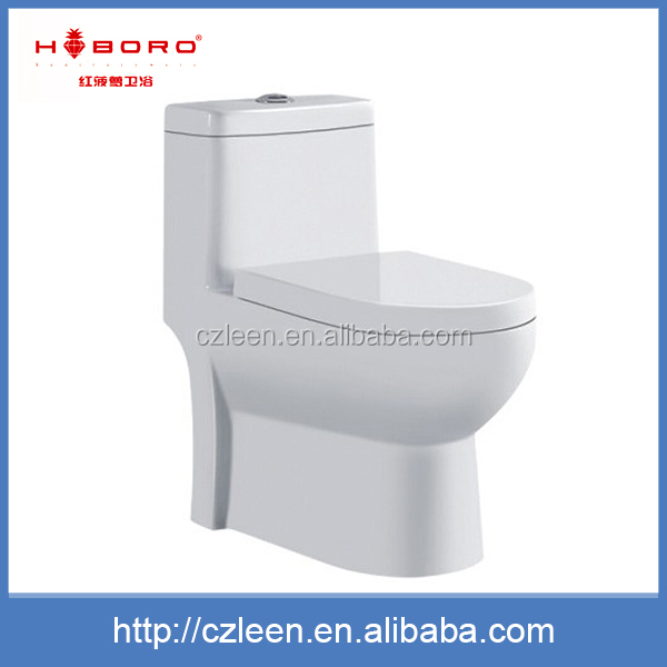 Professional design white bathroom siphonic ceramic compost toilet