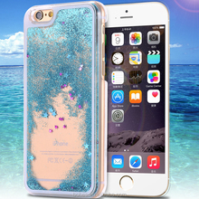 Floating glitter flowing liquid star case for i5 5s,hard plastic cell phone case for iphone 5 5s
