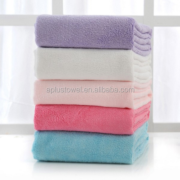 Microfiber Terry Cloth Super Absorbent Polyester Bath Towel