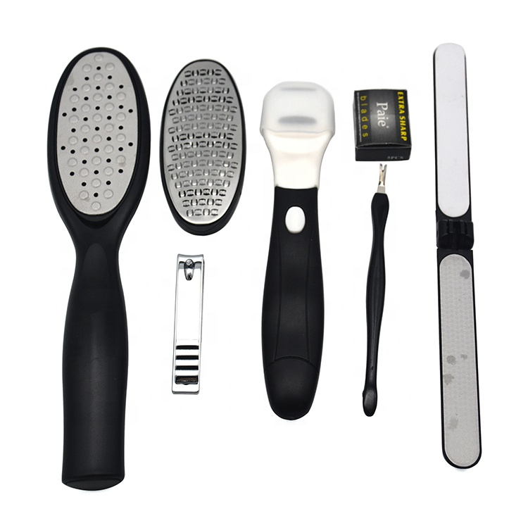 Hot sale Stainless Steel Callus Remover set Pedicure Foot File