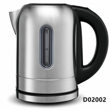 1.7L Electrical Stainless Steel Water Kettle With LED Lights, Electric Cordless Tea Kettle Auto Shut-Off Boil Dry Protection