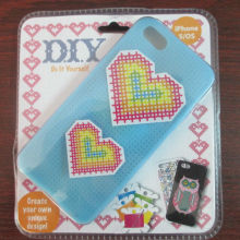 2013 Silicon cross stitch case for iphone 4 4s 4g
