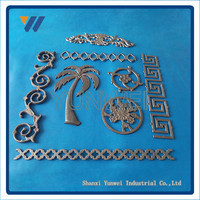Promotional Hot Selling Prime Quality Cast Iron Gate Grill Design