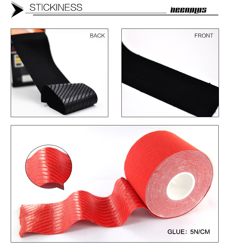 Heenplus High Quality Waterproof Athletic Kinesiology Tape Sports Tape