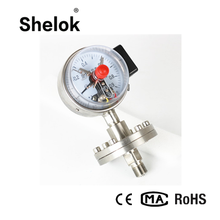 Pressure controlling industry electric contact diaphragm manometer