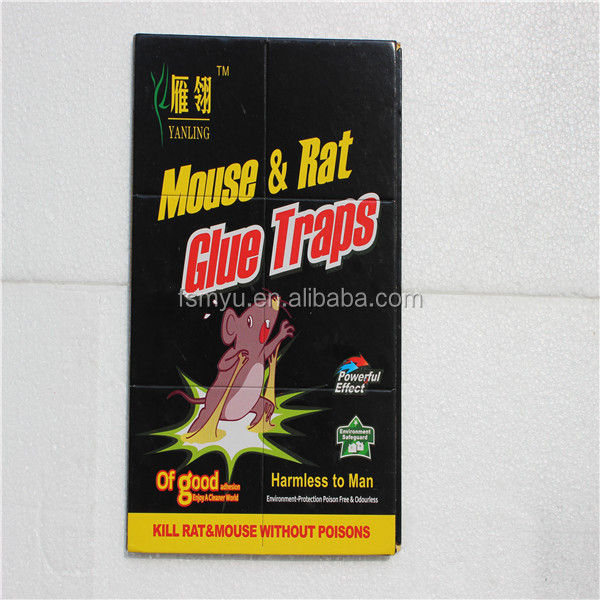 Powerful Rat Glue And Glue Trap Rat Mouse Traps