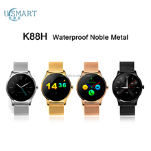 water proof IP67 smart watch K88h smartwatch metal watch phone screen Smartwatch with heart rate smart watch wifi hot in USA