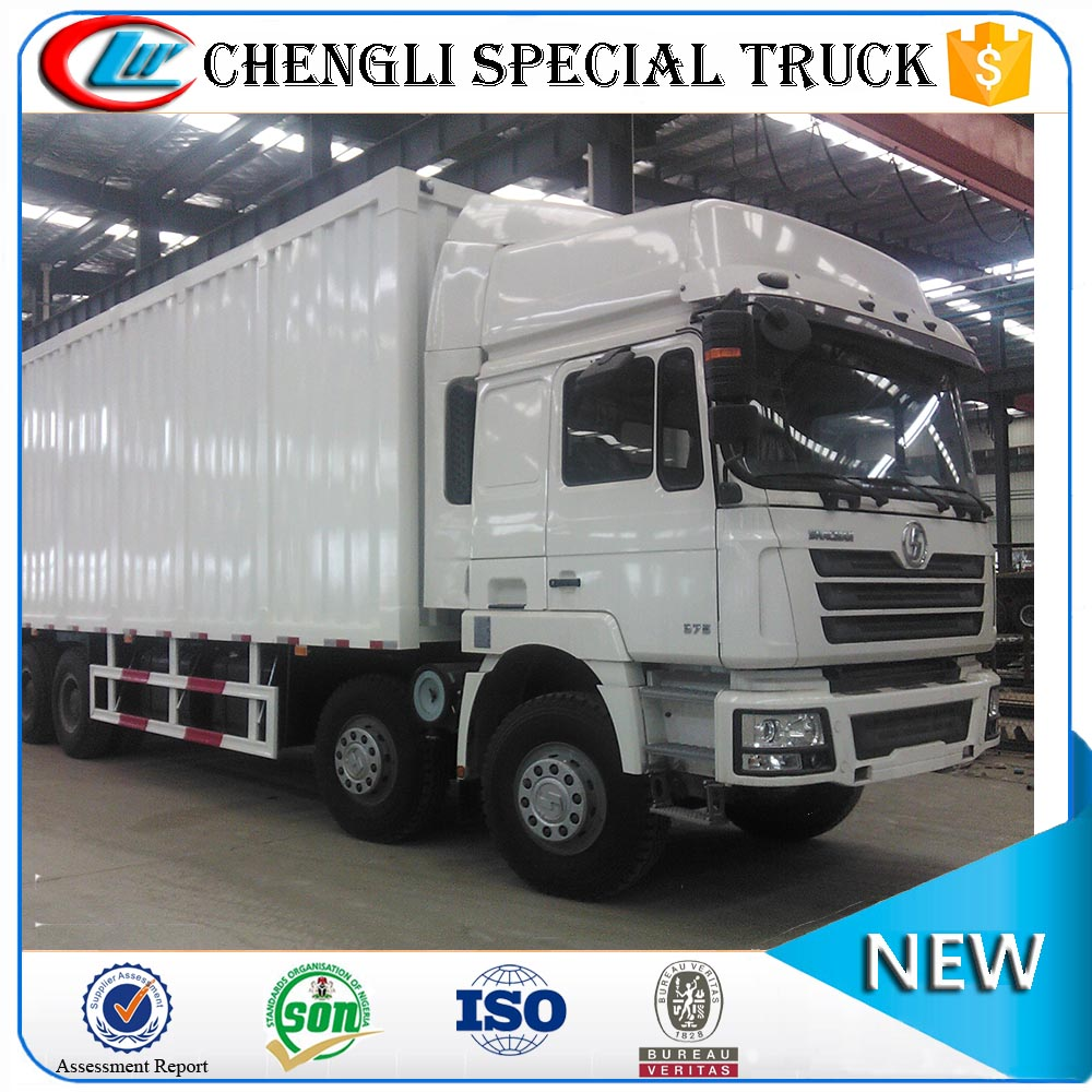 Shacman 270hp 8*4 35tons Large Capacity container body trucks