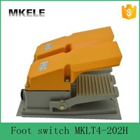 MKLT4-202H CE medical Newest latest metal wireless push button foot switch,trigger push button switch,dual foot switch