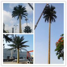 18M High Camouflage Monopole/ Camouflaged Palm Tree Tower for exporting