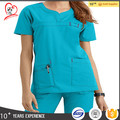 China factory best quality scrubs hospital doctor uniform