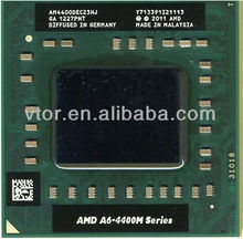 Hot Sale AMD A6-Series A6-4400M - AM4400DEC23HJ Socket FS1 Used Dual Core Used Cpu