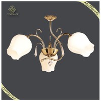 Best selling cheap glass shade chandelier E27 ,cheap chandelier flower shade