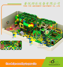 New fashional Forest theme children used playground equipment for sale