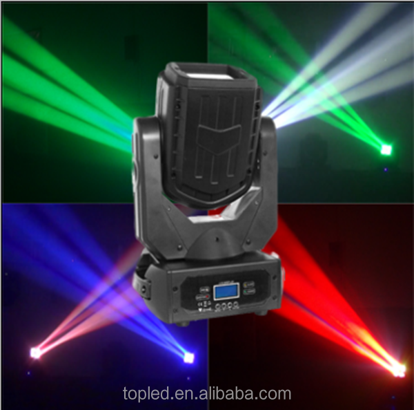 Powerful Great Design 4*25W RGB 280w beam spot wash, beam spot wash 3 in 1 moving head light