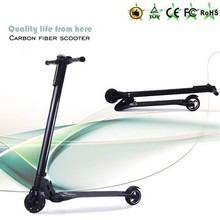 24V 250W scooter 2016 fashion and high technology foldable 5inch mini tire carbon fiber electric scooter
