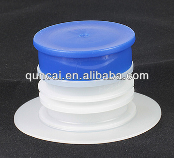 Plastic spout and cap 30mm for aseptic bag in box, flexible aseptic spout