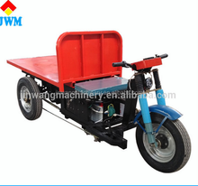 Advanced modern hot sale cargo tricycle electric energy saving flat car