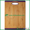 FB2-1062 Square custom Bamboo Cutting Board With Groove 3 colors