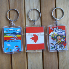 souvenir car shape metal keychain