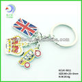 Customized England Keychains with Specialty English