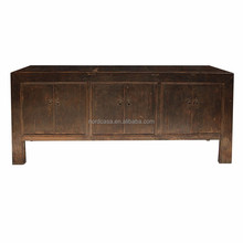 black dry finish antique wood furniture