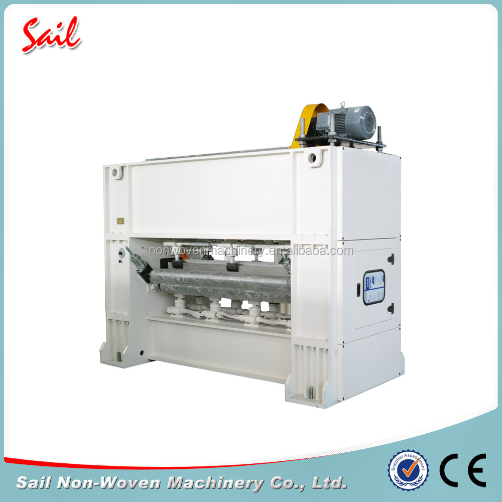 New model Sail nonwoven PET needle punched felt machine