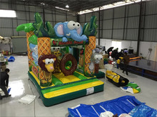Delightful Colors Inflatable Bouncer/Animal Inflatable Bounce House/ Bouncy Castle