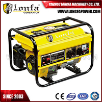 Good Price Strong Frame Kick Start 4Kva Elepaq Gasoline Generator for Sale