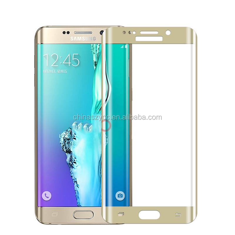 New 3D Full Screen Protector for Samsung Phone Printing Glass Screen Protector Film For Samsung Galaxy S7 Edge Screen Film