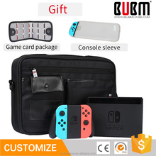BUBM single shoulder bag for Nintendo Switch protective portable travel pouch for Nintendo Switch Console accessories