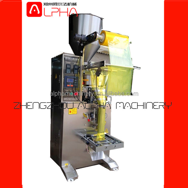 Good feedback Stainless Steel Automatic Back Sealing Snacks Bag Packaging Machine/ teabag filling and sealing machine
