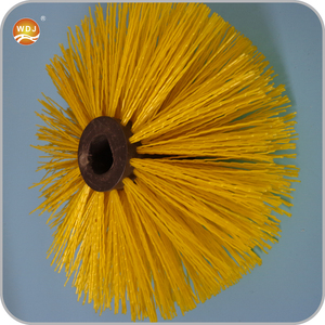 PA66 Nylon Fiber Injecting Core Roller Sweeper Brush