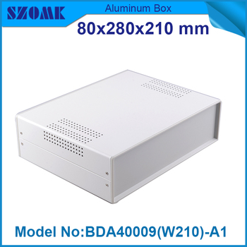 Steel junction housing amplifier case for electronic housing project iron electronic project box