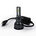 guangzhou onelight car accessories led para auto bohlam led h4 dual color K8 kit headlight kits