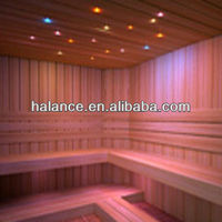 Halance Fiber optic light kits for sauna room starry sky