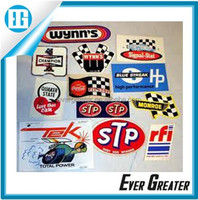 Custom stickers for cars die cut stickers private label carbon fiber stickers