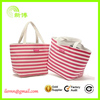 Hot sale women's striped canvas handbags