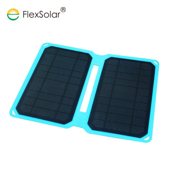 10w low price foldable portable usb solar power panel charger for iphone