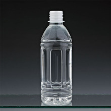 350ml hot-fill bottle food gade pet beverage french square plastic bottle drinking bottle pet