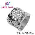 High quality stainless steel rings jewelry womens