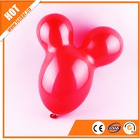 Birthday Party Decoration Mickey Mouse Head Cute Transparent Latex Balloons