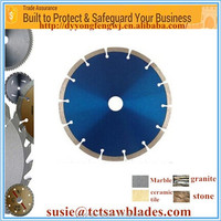 "4""(105/110 mm) Online wholesale in stock cold pressed dry diamond saw blade with color box"