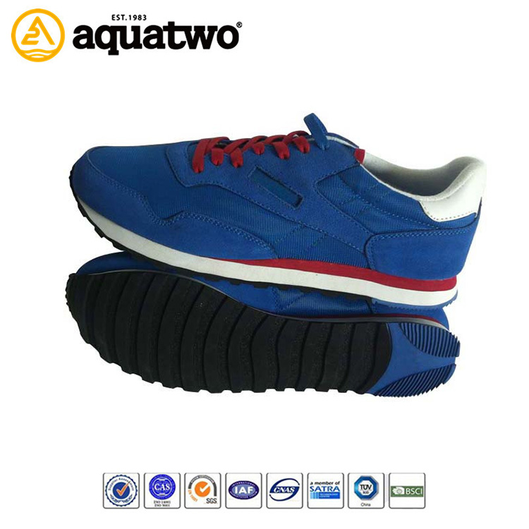 2014 new style men's running shoes with bright color