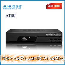 2016 1080p HD ATSC TV TUNER cheap High class tv channel receiver For America Maxico