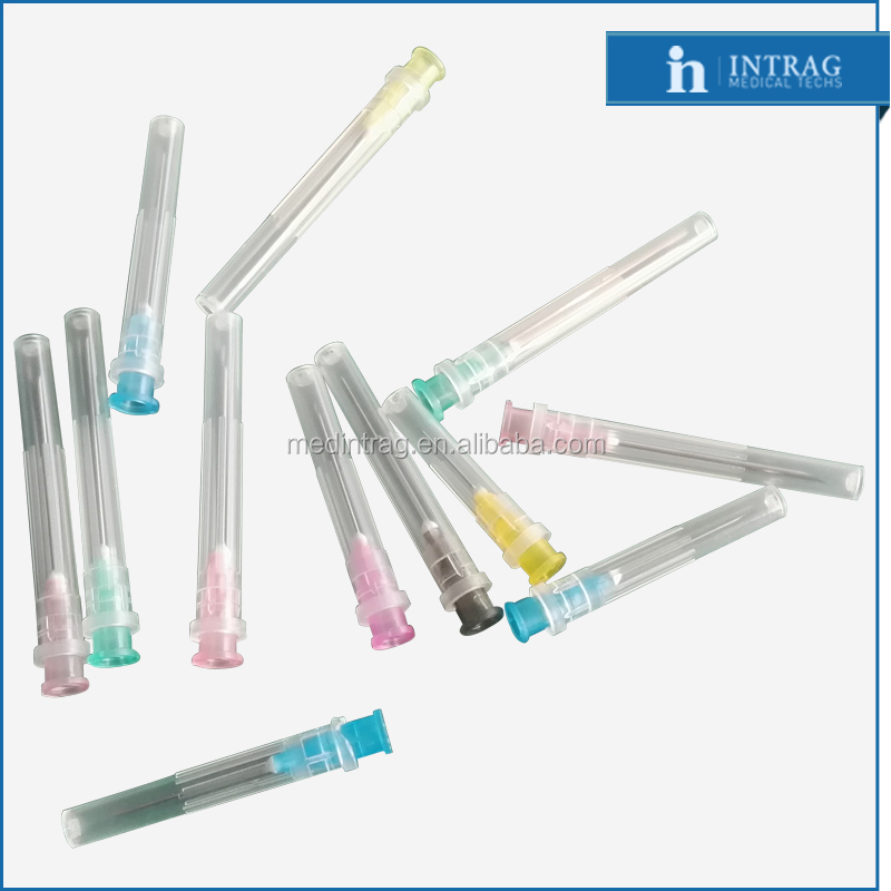Individual peel pack blister package new products hypodermic needle