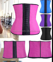 Steel Bone Waist Training Corset 100% Latex Corset Sexy Women Latex Waist Cincher Slimming Shapewear Bodysuit