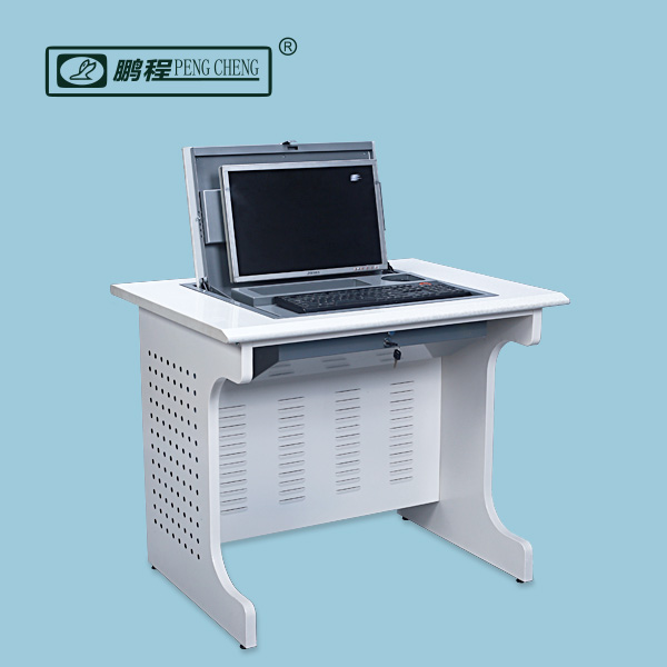 Rolled Steel Hide Away Hot Selling Low Price Computer Desk